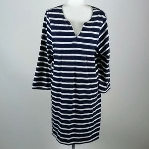 Beachlunchlounge vivid striped shift size large
